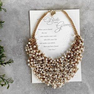 Handmade wedding Bridal Pearl Necklace